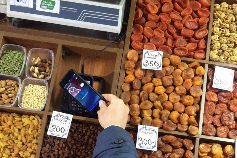 Купить урюк через Apple Pay: эксперимент «Сбербанка» в отдельно взятом городе