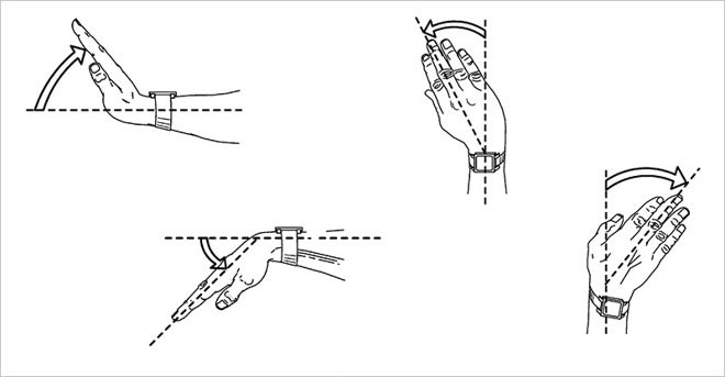 Apple has patented a system of recognition of wrist gestures to control the Apple Watch and the iPhone