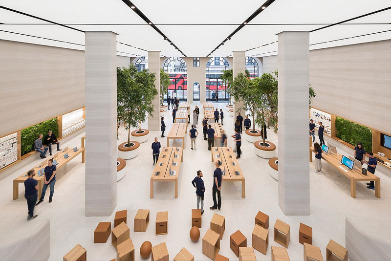 Photo: in London opened a new Apple store   ActualApple com