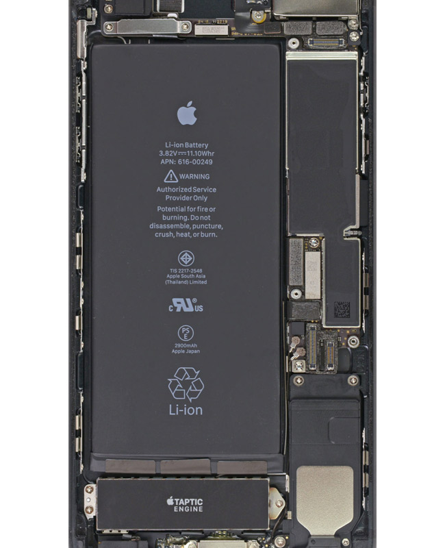 Ifixit Published An X Ray Wallpaper For The Iphone 7 And Iphone 7 Plus Actualapple Com