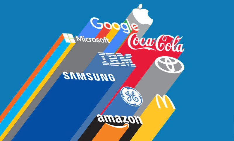 Apple topped the rating of most valuable world brands