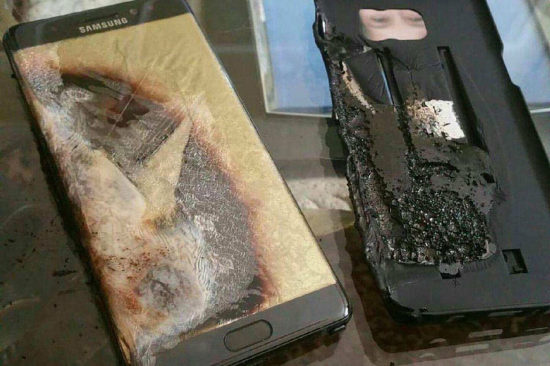 Samsung refuses to compensate the victims from Galaxy Note 7