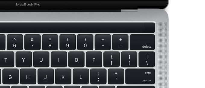 Apple accidentally unveiled the new MacBook Pro with a panel of Magic Toolbar and Touch ID two days before the presentation