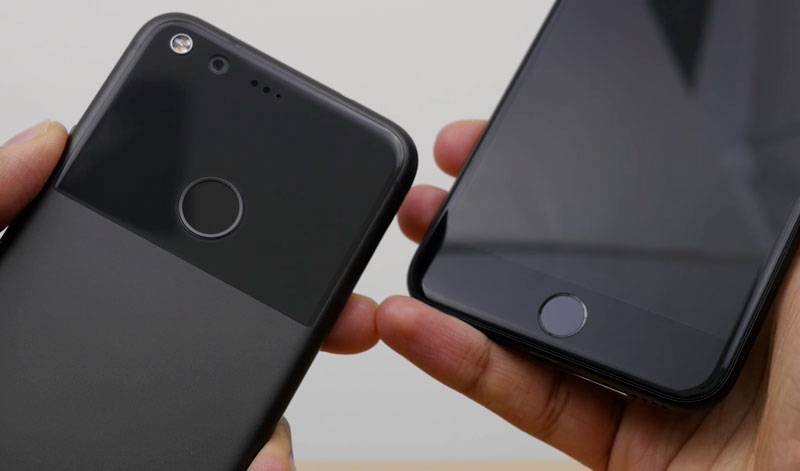 iPhone 7 Plus vs Google Pixel XL: the speed of the