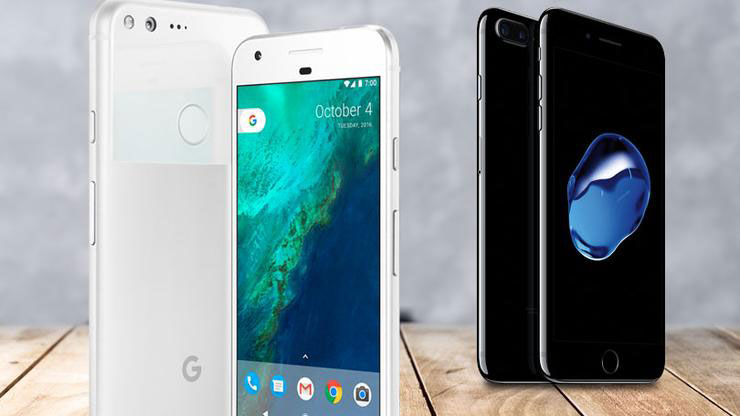 Pixel XL vs iPhone 7 Plus: can the
