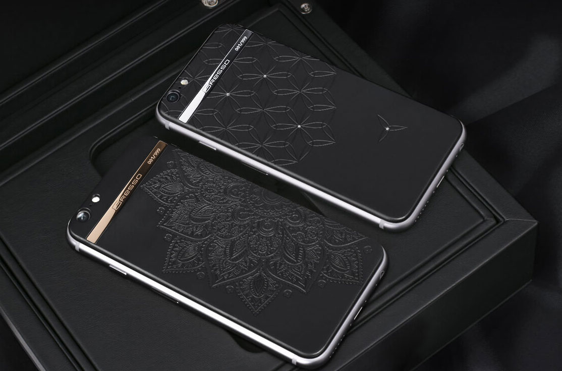 iPhone 7 by Gresso: new titanium iPhone with diamonds