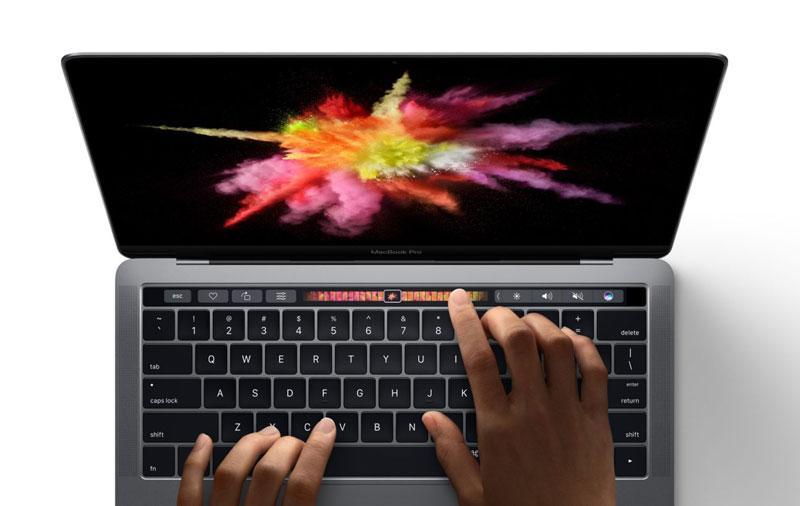 Apple: bar Touch Bar in the new MacBook Pro is better for touch screens in Windows laptops
