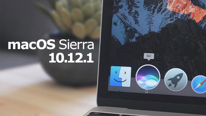 Apple released macOS Sierra 10.12.1 error correction