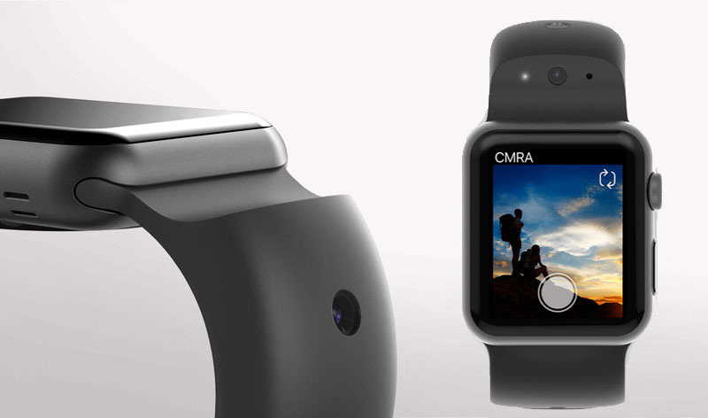CMRA: the first smart strap with built-in camera for Apple Watch [video]