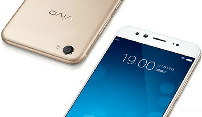 Vivo presented a clone of the iPhone 7 with dual front camera with a 20 - and 8-megapixel sensors