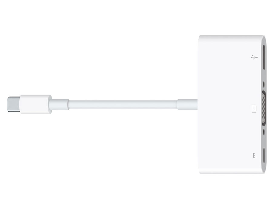 Apple has reduced prices on adapters USB-C after user complaints about the lack of standard connectors in the new MacBook Pro