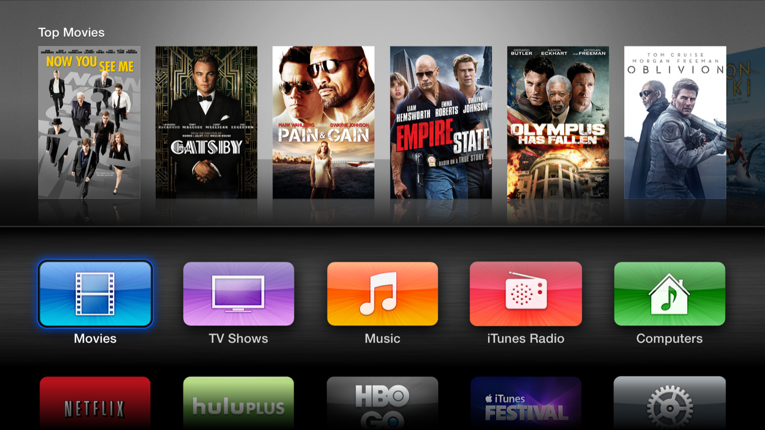 Some of the old Apple TV has lost its ability