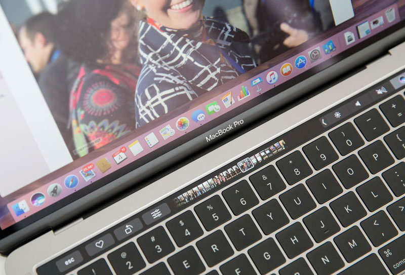 The new app allows you to use touch panel Touch Bar without buying a MacBook Pro