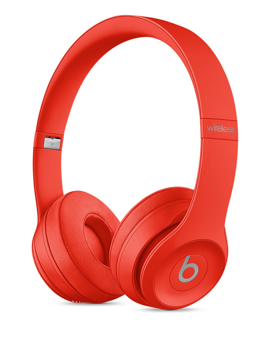 Apple has released a special version of the headphones Beats Solo3 and dynamics of the Beats Pill+ in the framework of the program (PRODUCT)RED
