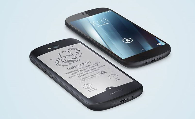 Loss manufacturer of smartphones YotaPhone for the six months amounted to nearly $8 million
