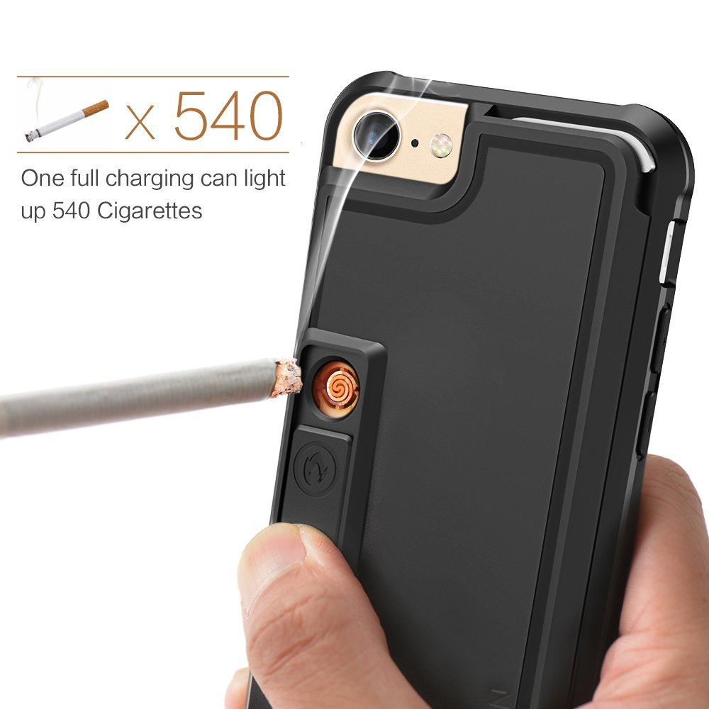 ZVE Lighter Case: case for iPhone 7 with built-in lighter and a beer opener [video]
