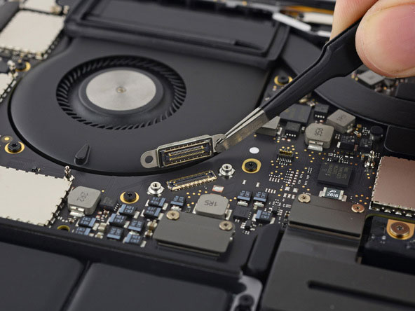 iFixit: MacBook Pro laptop with a Touch panel Bar is almost impossible to fix