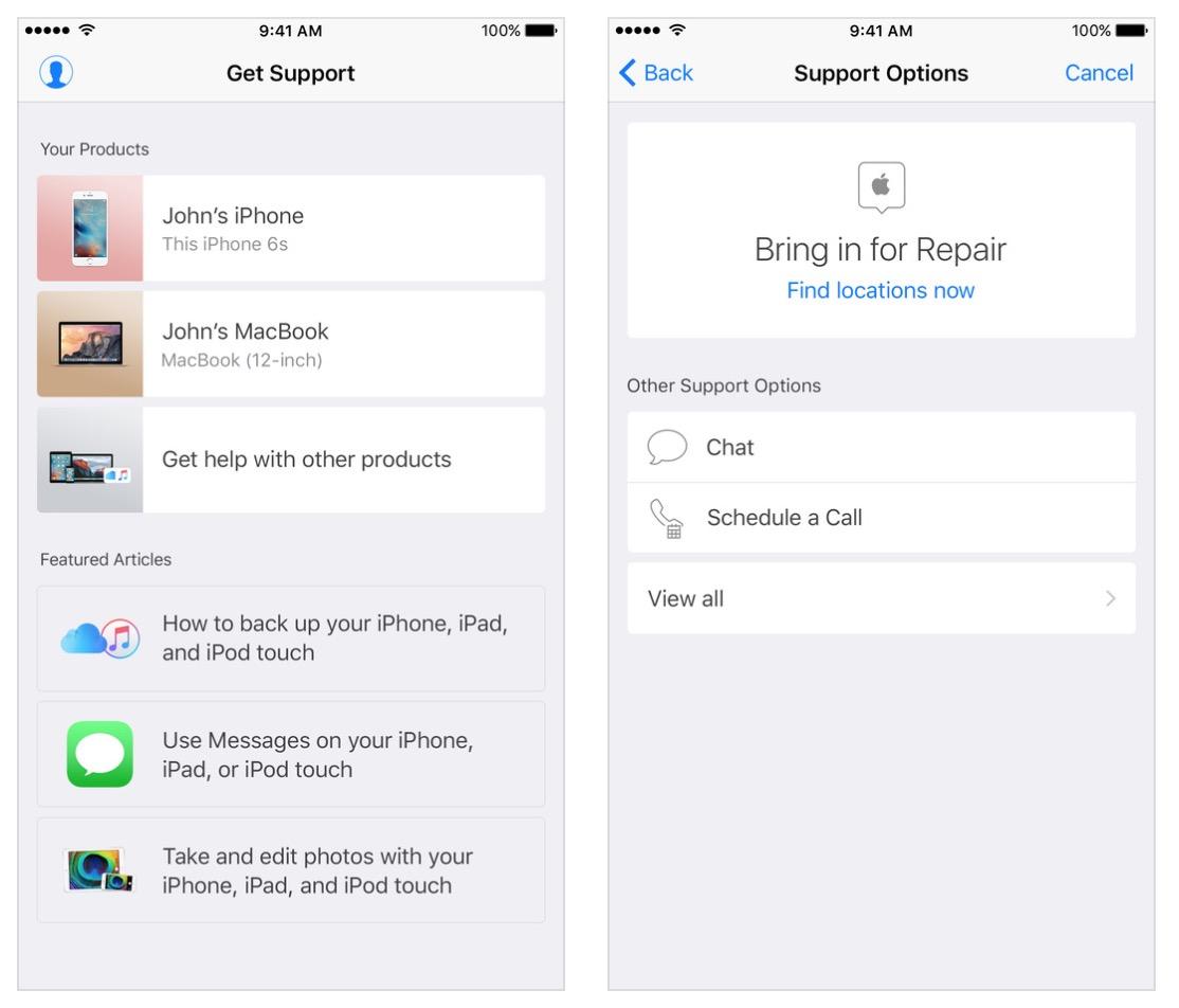 Apple got its own app