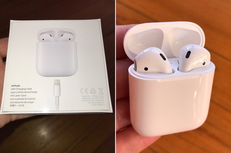 The first customers started to get AirPods