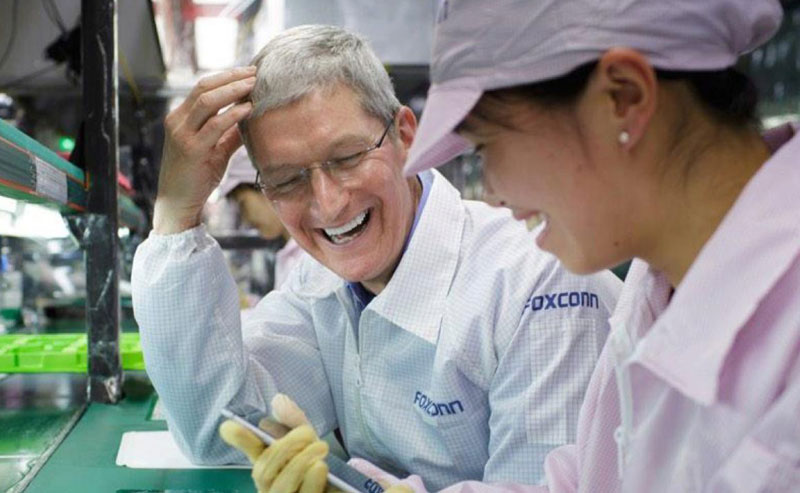 Apple has turned to Foxconn for help with promotion on the market of Southeast Asia
