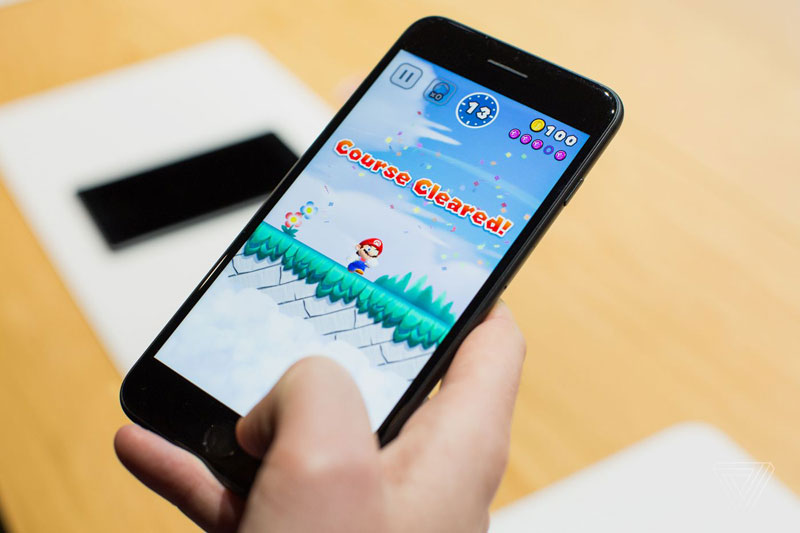 Announced at the presentation of the iPhone 7 game Super Mario Run demonstrated on Jimmy Fallon [video]
