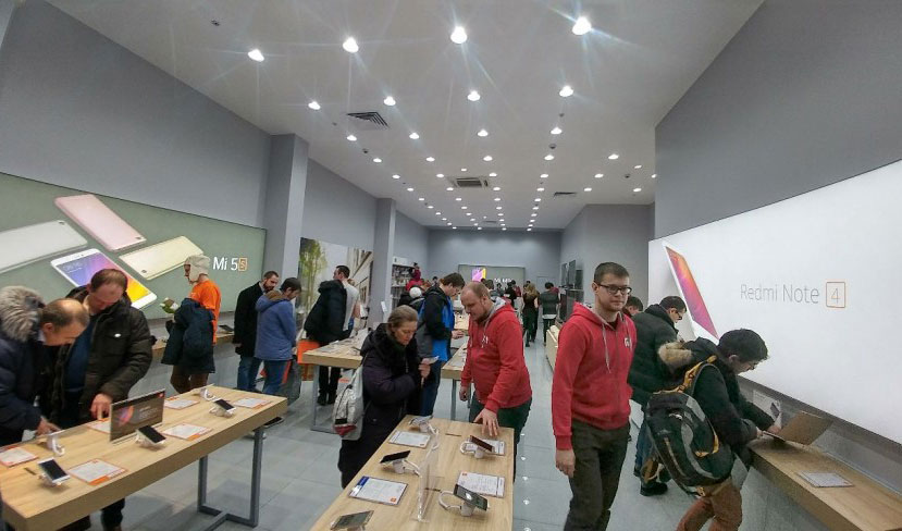 Photo: in Moscow opened a flagship store Xiaomi