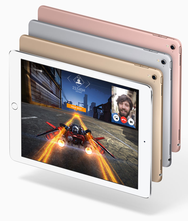 New 10.5-inch iPad display in the entire front panel will come on schedule