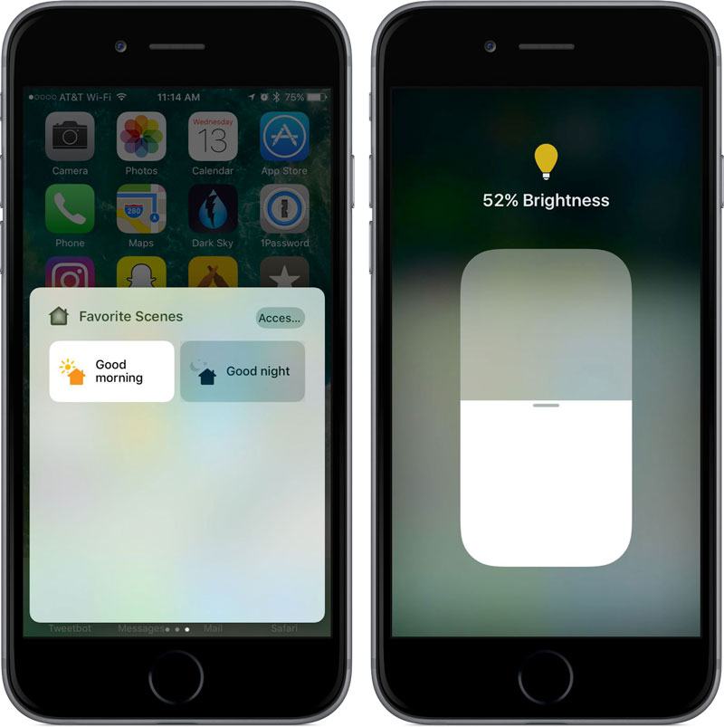 IBM introduced the smart bulb A19 Multicolor, which can be controlled using Siri