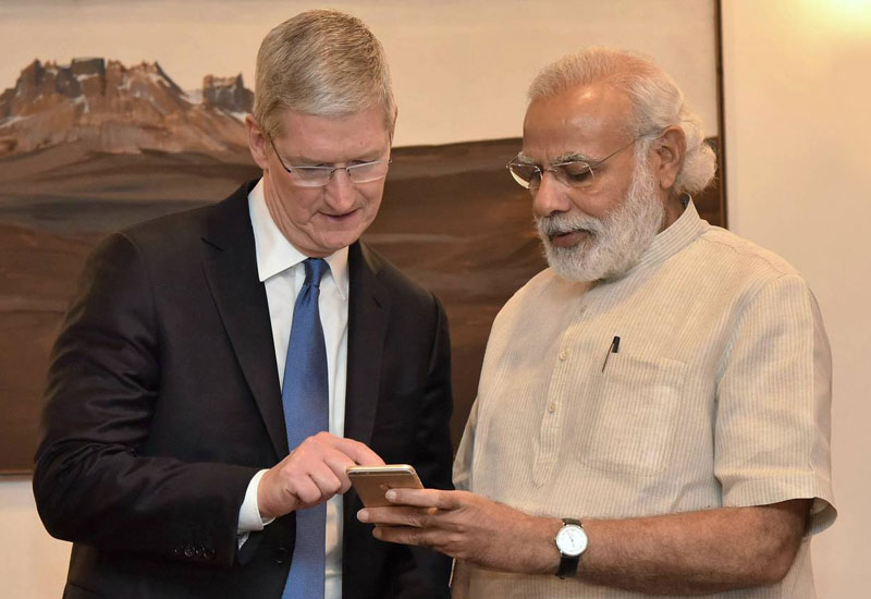 Apple plans to start production of iPhone in India