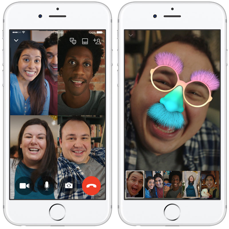 Facebook has launched group video calling in Messenger