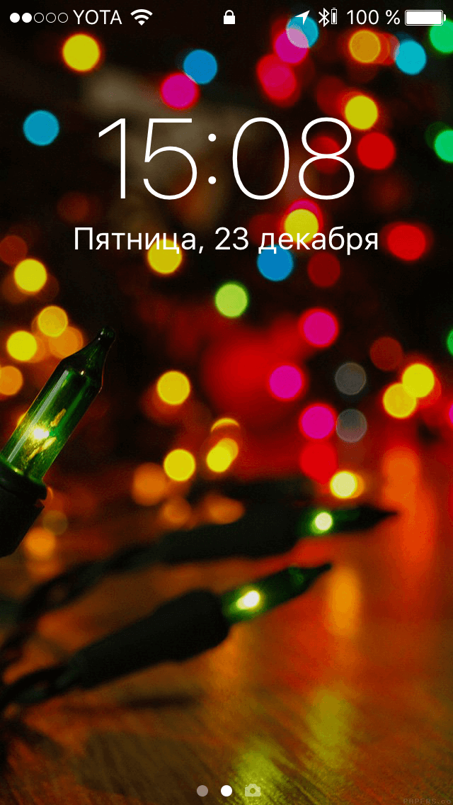 A selection of the best Wallpapers: New year