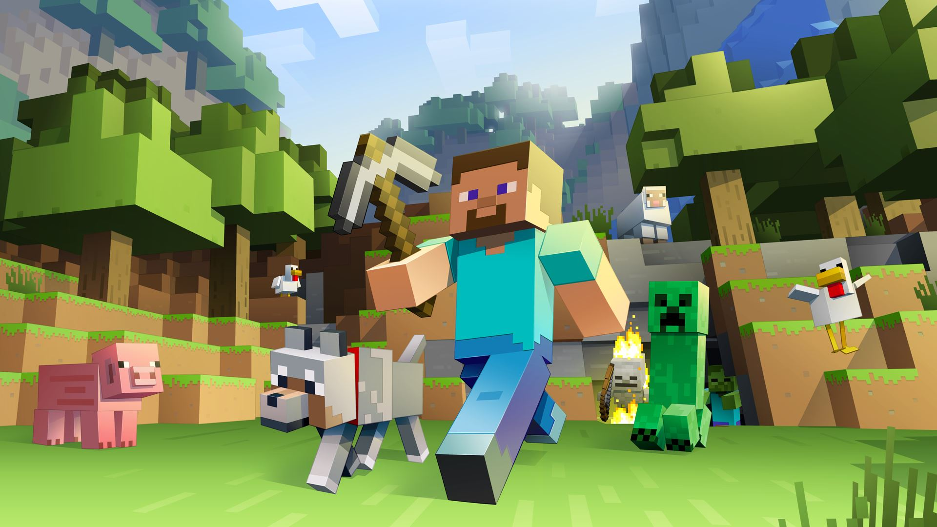 Minecraft for Apple TV is available for download