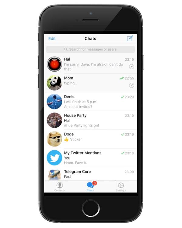 Telegram got integration with other services using IFTTT