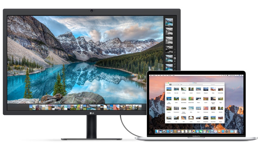 5K-monitor LG UltraFine works with the previously released Mac models using adapter