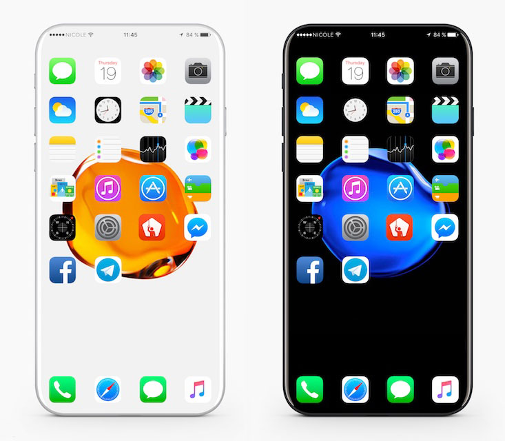 Can this be iPhone 8 with edge-to-edge display and no Home button