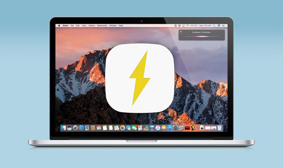 How to return to the status menu MacBook information about the remaining time of battery life
