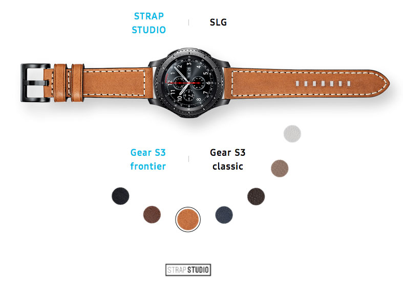 Samsung for example has recently released a collection of new straps for smart watch Gear S3