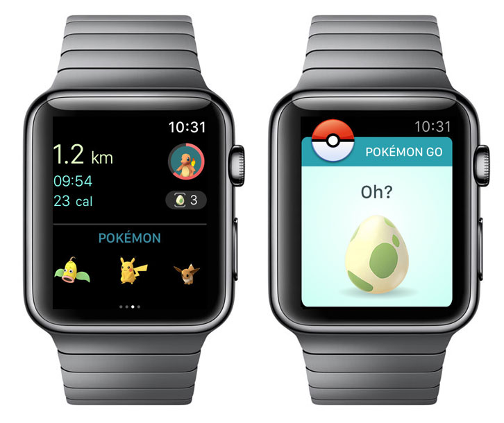 Pokemon Go was officially released on the Apple Watch
