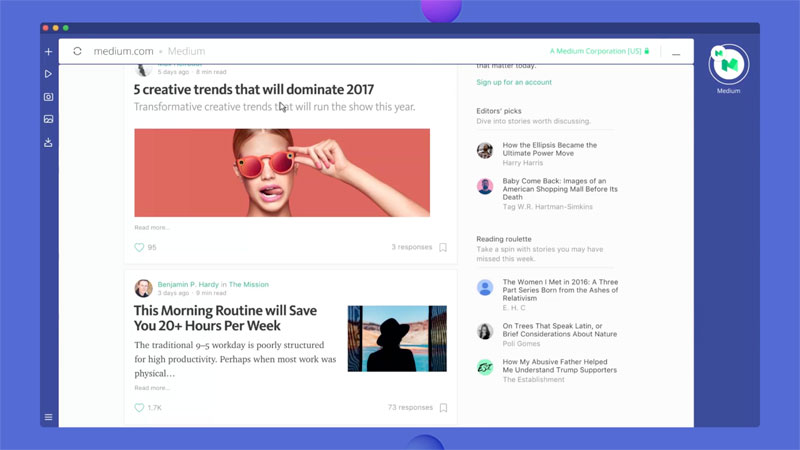 """Opera introduced the """"browser of the future"""" Neon for Mac and Windows"""