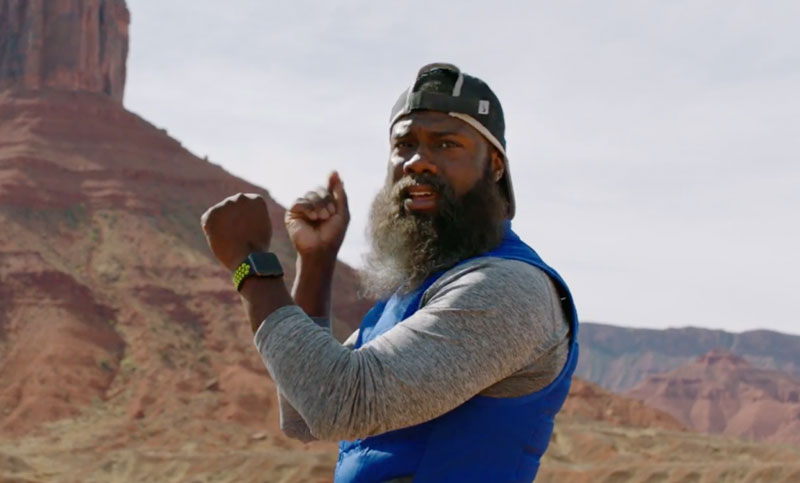 In the new ad for the Apple Watch, Nike+ Kevin HART runs a marathon 1,000 kilometers [video]