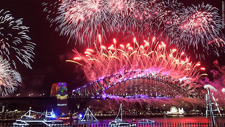 New year fireworks pictures iPhone 7
