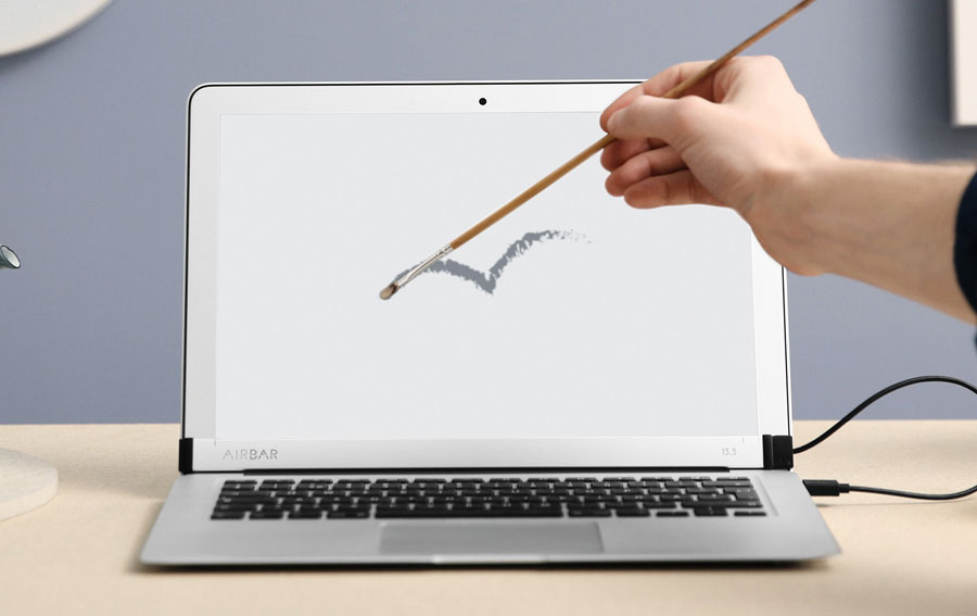 Device for $100 that turns MacBook Air into a touch-screen laptop [video]