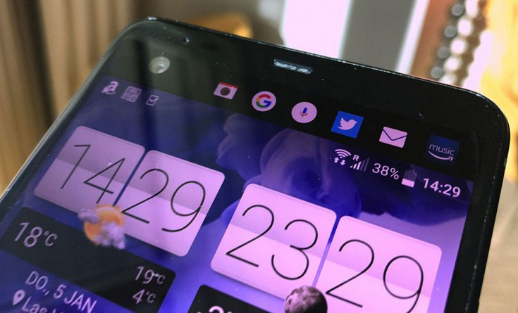 The new flagship HTC U Ultra with additional display declassified the day before the official presentation [photos]