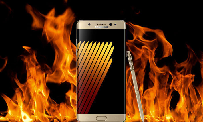 Samsung is preparing to publish the results of the investigation of the causes of explosions Galaxy Note 7