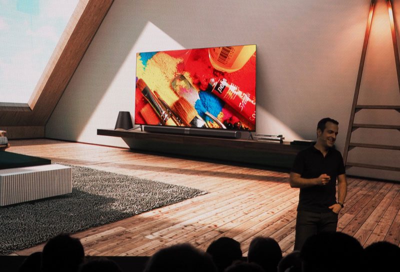 New 65-inch TV Xiaomi is 30% thinner than the iPhone 7
