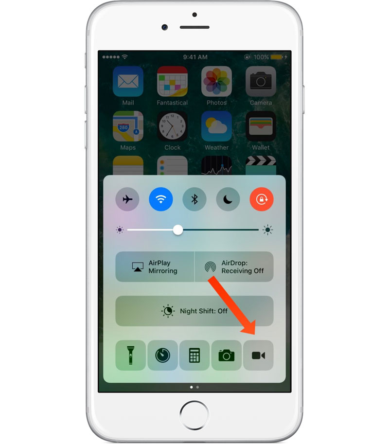 "CCRecord: how to record video from iPhone screen ""one-click"""