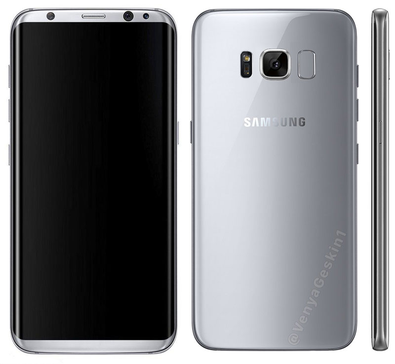 In the Network appeared official images of the flagship Samsung Galaxy S8