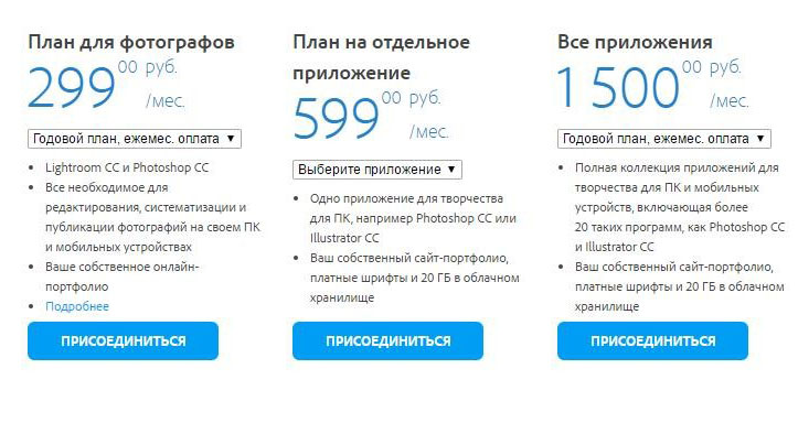 Adobe two times increased the cost of Creative Cloud in Russia