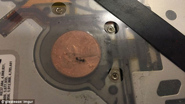 Users of MacBook Pro laptops find inside the mysterious coins