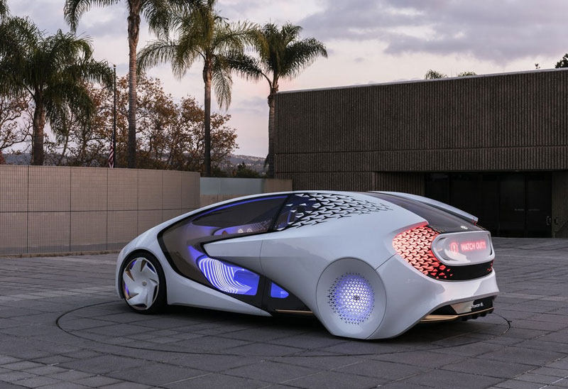 Toyota Concept-i: this could be an electric car Apple
